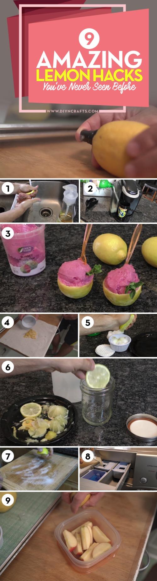 9 Amazing Lemon Hacks, die Sie noch nie zuvor gesehen haben