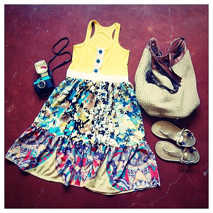 Summer Fashion DIY - Machen Sie Ihr eigenes Tank Top Dress