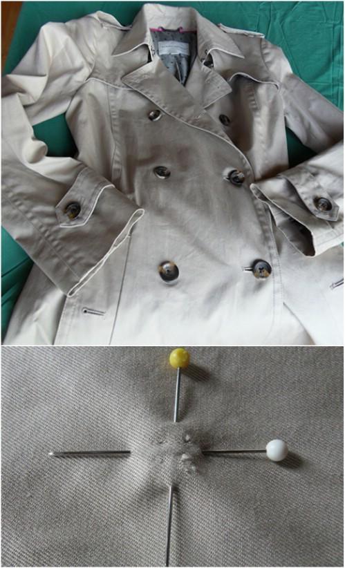 10 herrlich einfache DIYs, zum der alten Winter-Mäntel neu zu gestalten