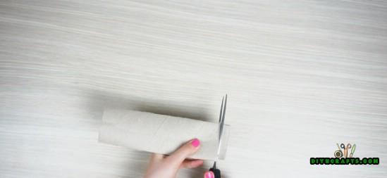 4 Spaß und dekorative Papierrolle Handwerk, die Sie in 3 Minuten machen können