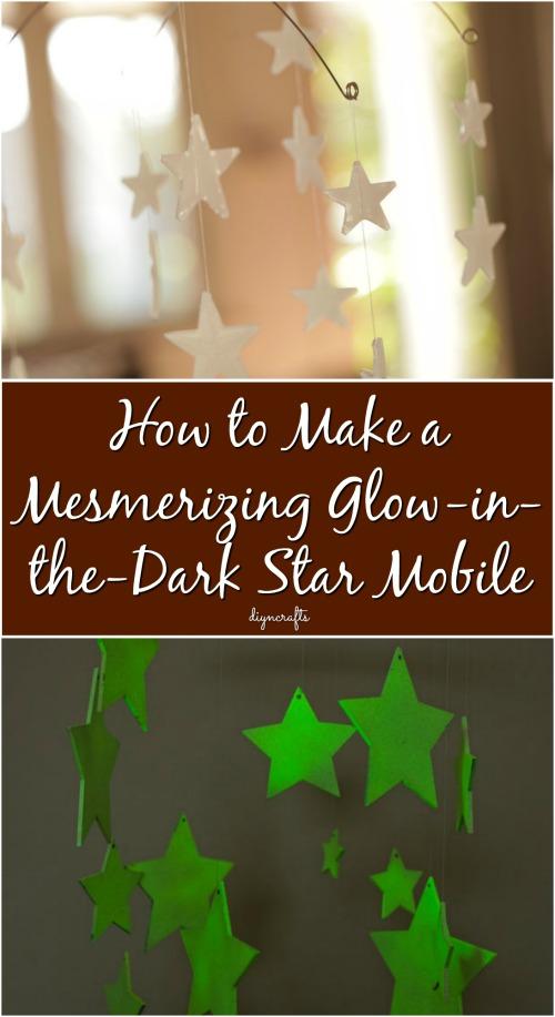 Wie man einen faszinierenden Glow-in-the-Dark Star Mobile macht