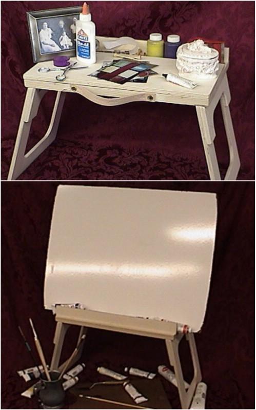 17 einfach zu bauen DIY Craft Desks Sie können einfach nicht ohne leben