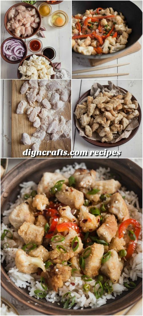 Crunchy Honey Chicken - eine schnelle und einfache Mahlzeit in der Woche
