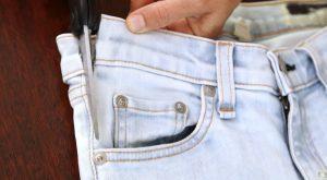 Wie man jedes Paar Jeans perfekt für die Mutterschaft macht