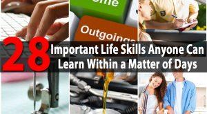 28 Wichtige Lebenskompetenzen, die jeder in wenigen Tagen lernen kann