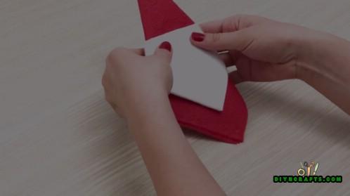 5 festliche DIY Weihnachtsservietten Designs mit einfachen Video Anweisungen