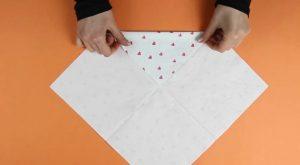 Wie man diese lächerlich niedliche Ostern-Servietten-Häschen-Tasche macht