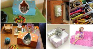 25 innovative Upcycling-Projekte, die leeren Tissue-Boxen neues Leben schenken