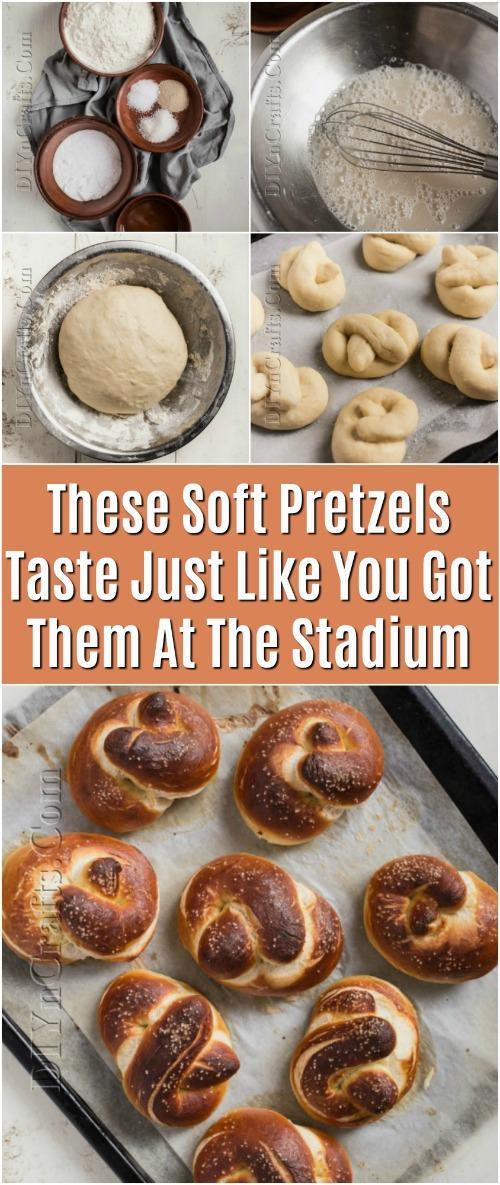 Diese weichen Brezeln schmecken, gerade wie Sie sie am Stadion erhielten