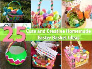 25 nette und kreative selbst gemachte Ostern-Korb-Ideen