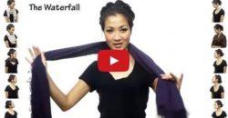 Mode DIY - 25 Möglichkeiten, einen Schal zu tragen Präsentiert in 4,5 Minuten!