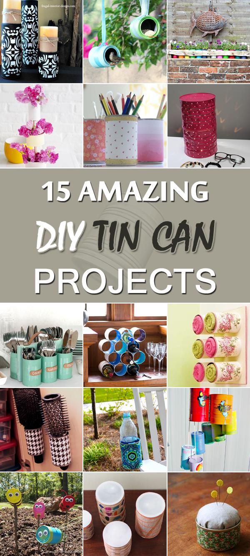 15 erstaunliche DIY Blechdose-Projekte