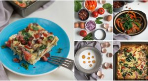 Wake Up To Deliciousness mit diesem Spinat und Speck Frittata