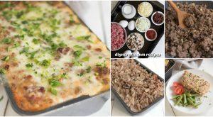 Köstliche Beef Casserole - eine gesunde Abendessen-Idee für beschäftigte Familien
