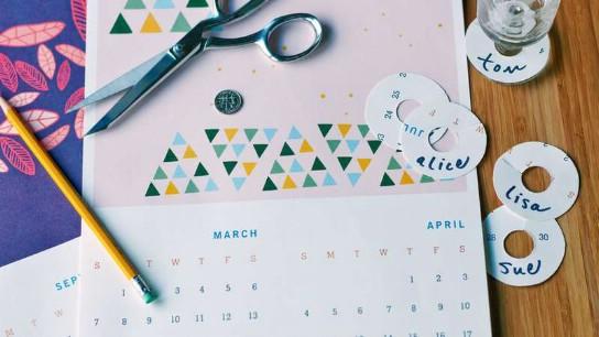 25 Clever Kalender Repurposing Ideen, die kreativ und lustig sind