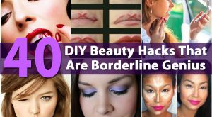 40 DIY Beauty Hacks, die Borderline-Genie sind