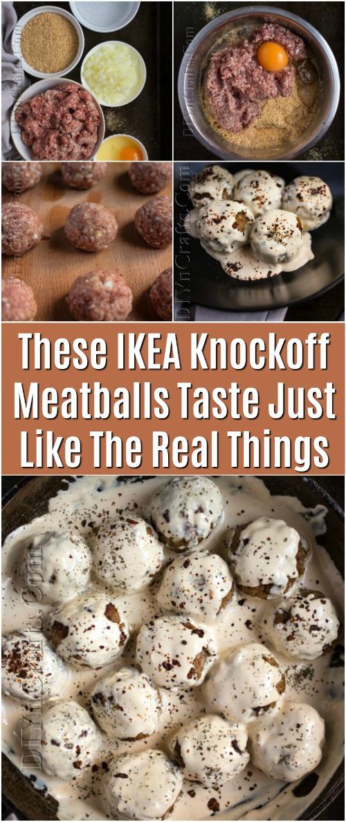 Diese IKEA Knockoff Fleischbällchen schmecken genau wie die echten Dinge