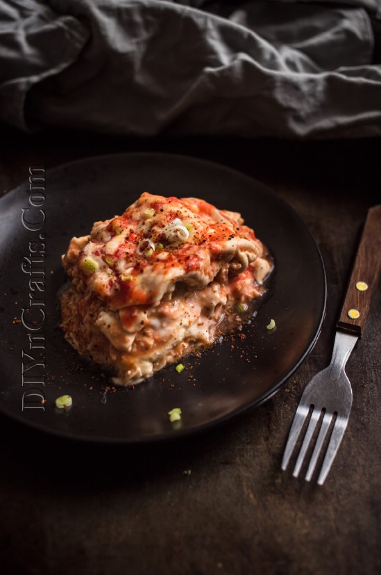 Slow Cooker Lasagne ist eine schnelle und einfache Übernahme eines alten Favoriten