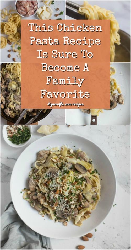 Dieses Huhn Pasta Rezept ist sicher, ein Familienliebling zu werden