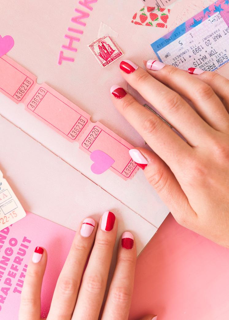 Die rosa und roten Kapitel