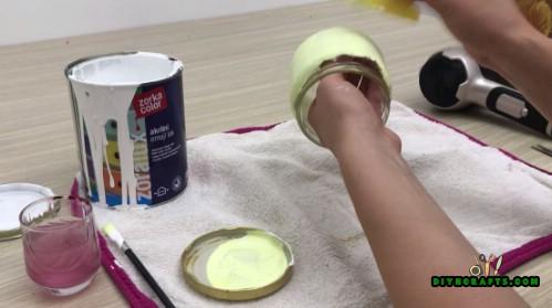 3 einfache und kreative Herbst Einmachglas Dekoration Projekte, die jeder tun kann