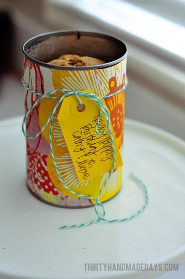 30 Crafty Repurposed Ideen für leere Kaffeecontainer