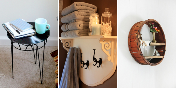 17 clevere Möglichkeiten, Trödel in wunderschöne Möbel zu verwandeln