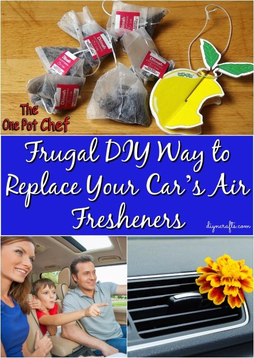 Frugal DIY Weg, um die Lufterfrischer Ihres Autos zu ersetzen