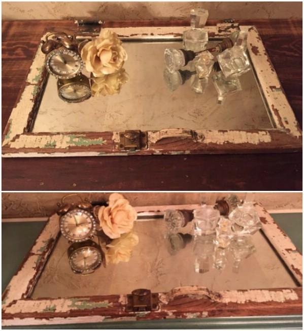 20 Brilliant Crafty DIY-Ideen Upcycle Broken Mirrors