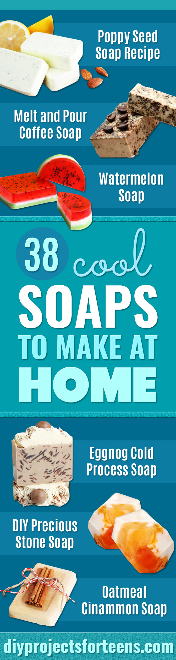 38 coole Seifen zu Hause machen