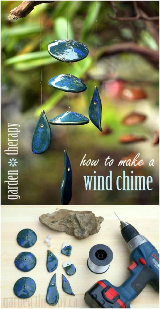 40 entspannende Wind Chime Ideen, um Ihre Outdoors mit schönen Sounds zu füllen