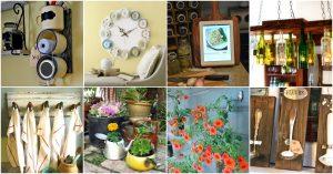 50 brillante Neuverwendung von Ideen, um alte Küchenartikel zu aufregenden neuen Dingen zu machen