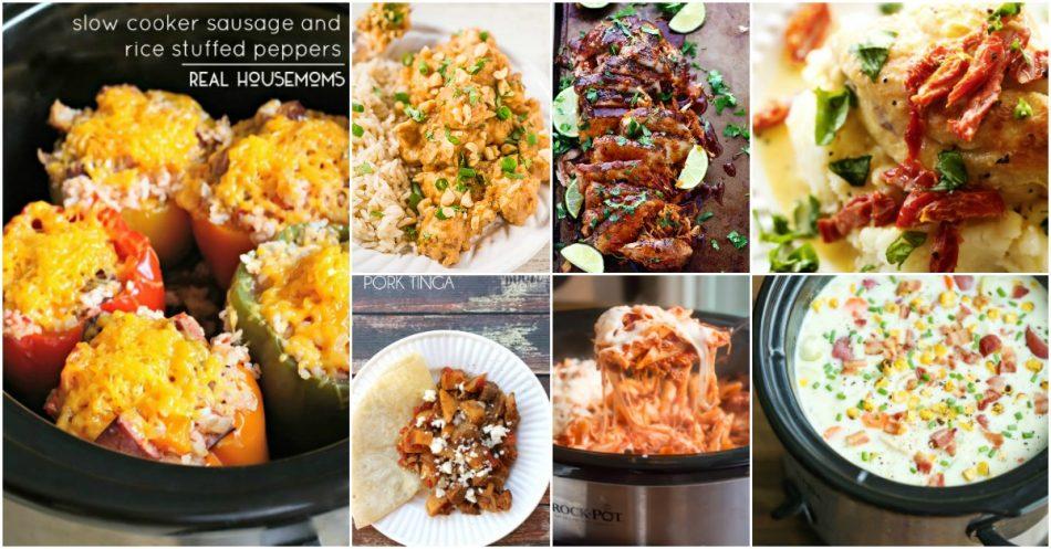 25 schnelle und einfache Crock-Pot Rezepte, die Ihnen gesunde Abendessen geben