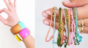 47 DIY Armbänder, die du bis morgen tragen könntest