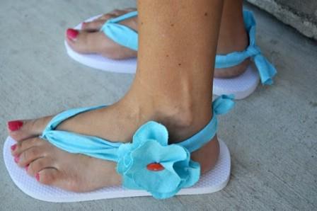 15 super bequeme Flip-Flops und Sandalen können Sie DIY