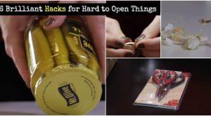 6 brillante Hacks für schwer zu öffnende Dinge