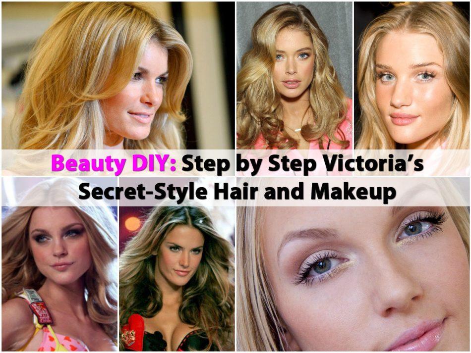 Beauty DIY: Schritt für Schritt Victoria's Secret-Stil Haare und Make-up