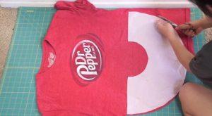 Wie man ein altes T-Shirt in ein nettes Schößchen-Oberteil upcycle