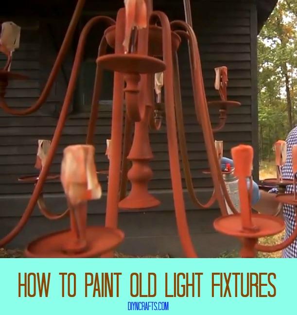Awesome Home Decor DIY - Wie alte Leuchten zu malen