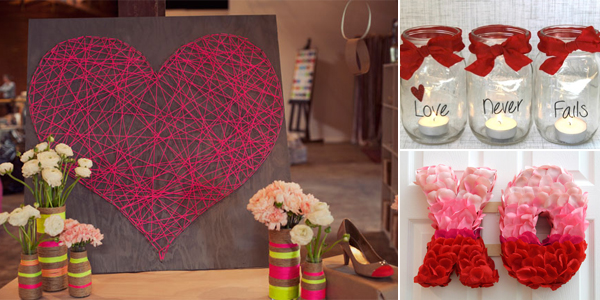 26 einfache, aber effektive DIY Valentinstag Dekorationen