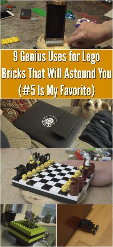 9 Genius verwendet für Lego Bricks, die Sie verblüffen werden (# 5 ist mein Favorit)