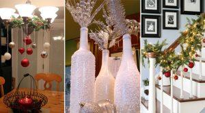 20 einfache DIY Weihnachtsdekorationen, die Sie in einer Stunde machen können