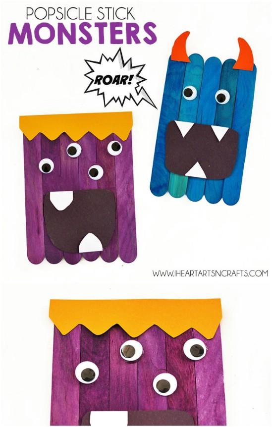 50 Fun Popsicle Crafts sollten Sie mit Ihren Kindern diesen Sommer machen