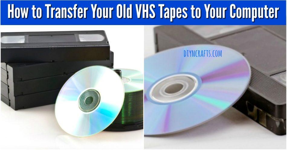 So übertragen Sie Ihre alten VHS-Kassetten auf Ihren Computer