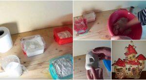 Wie man lufttrockenen Papier-Ton macht, der nicht knackt