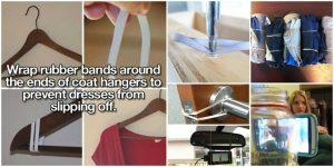 15 Genius Rubber Band Lifehacks zur Vereinfachung Ihres Lebens