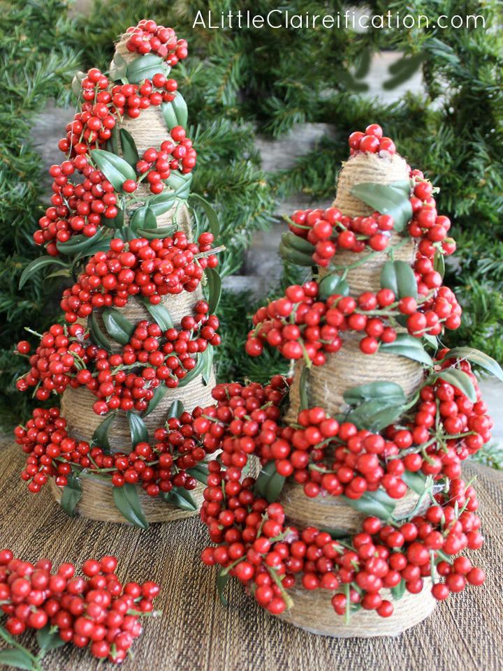 20 entzückende DIY Mini Weihnachtsbäume, die Sie lieben werden