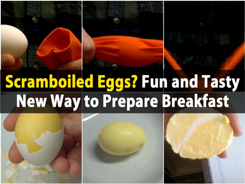 Scramboiled Eier? Spaß und schmackhafte neue Art, Frühstück vorzubereiten