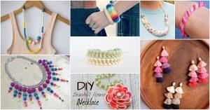 35 lebendige DIY Schmuck Ideen, die Ihre Sommergarderobe anziehen wird