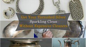 Erhalten Sie Ihre getränkte Silber Sparkling Clean ohne teure Reiniger